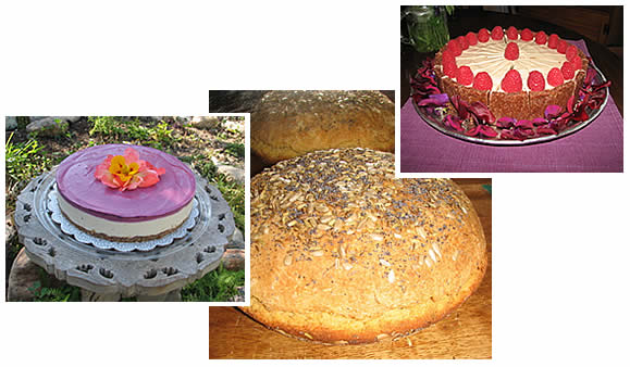 Azalyne's gluten-free cakes and bread