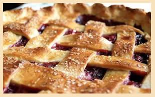 Fresh-baked pie from Companion Bakeshop, Santa Cruz