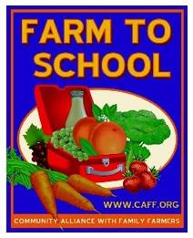 CAFF's Farm To School logo