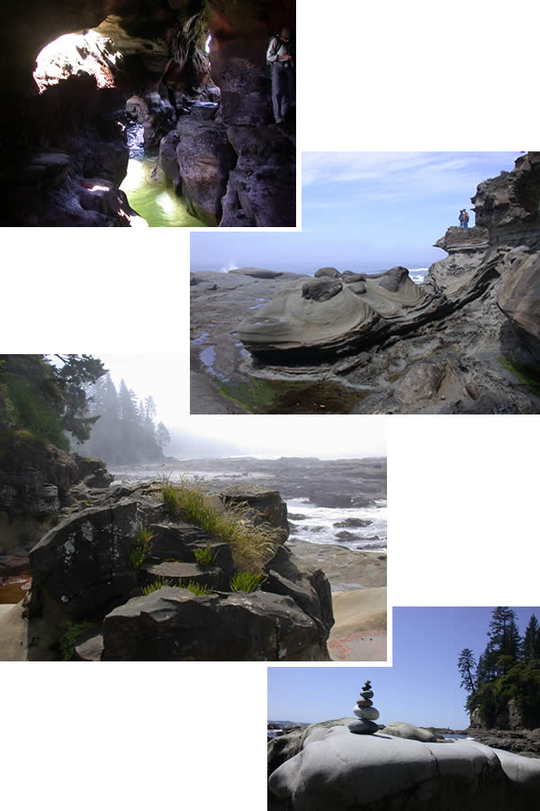 Mabens Beach, near Bamfield terminus of the West Coast Trail, Vancouver Island, BC, 2009