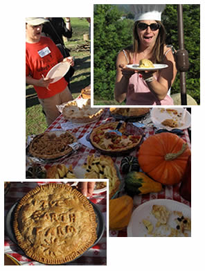 Last year's pie contest